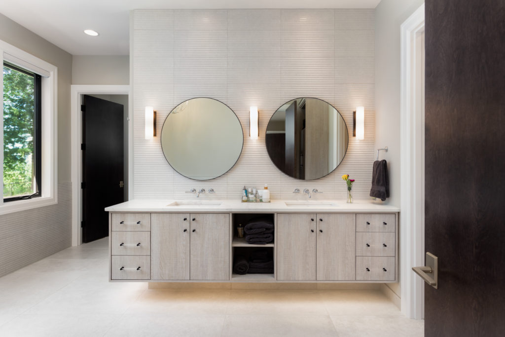 How to choose the right vanity lighting for your bathroom progressive builders for How to choose bathroom lighting